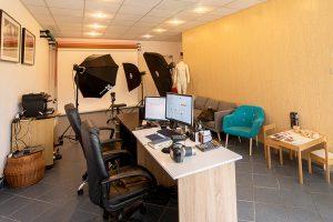 studio fotograficzne wnętrze Justart-studio